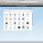 eyeOS desktop
