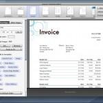 The invoice editor